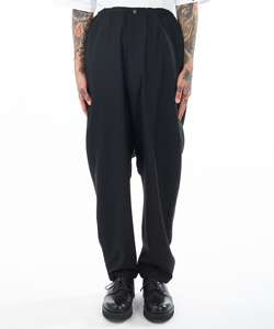 STRAIGHT SARUEL PANTS