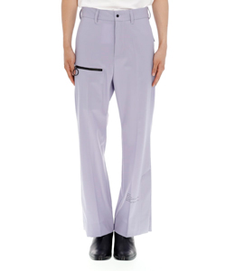 SIDE SLIT SLACKS