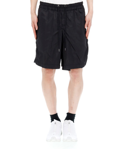 PUCKERED JAPANESE HAKAMA SHORT PANTS