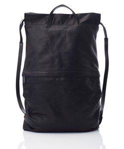 LEATHER BACKPACK CORDON