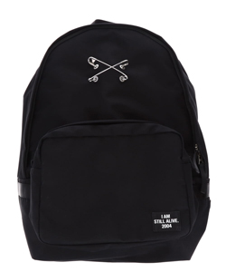 SAFETY PIN BACKPACK