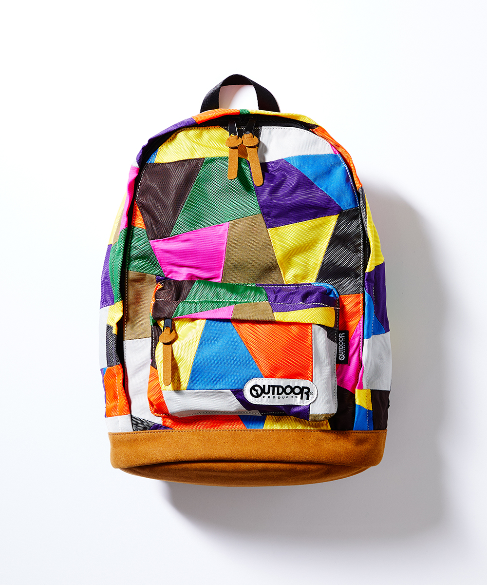 PATCHWORK DAYPACK OUTDOOR PRODUCTS×ANREALAGE