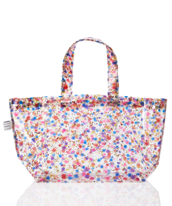 FLOWER PVC TOTE BAG-SMALL
