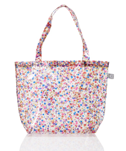 FLOWER PVC TOTE BAG-LARGE