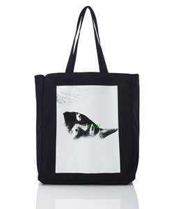 GRAPHIC PRINT TOTE BAG