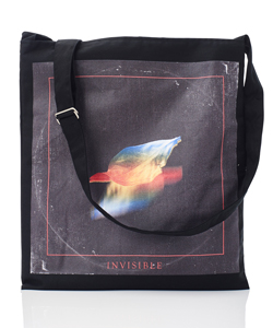 INVISIBLE PRINTED TOTE BAG