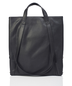LEATHER SMALL TOTE LOOP HANDLE