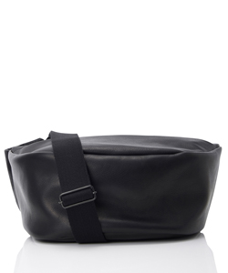 LEATHER WAIST BAG DEMI CERCLE