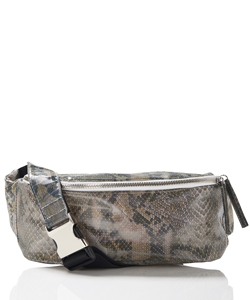 INVISIBLE LENTICULAR WAIST BAG