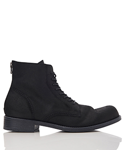 MIDWEST EXCLUSIVE WAX VELOUR BACK ZIP BOOTS