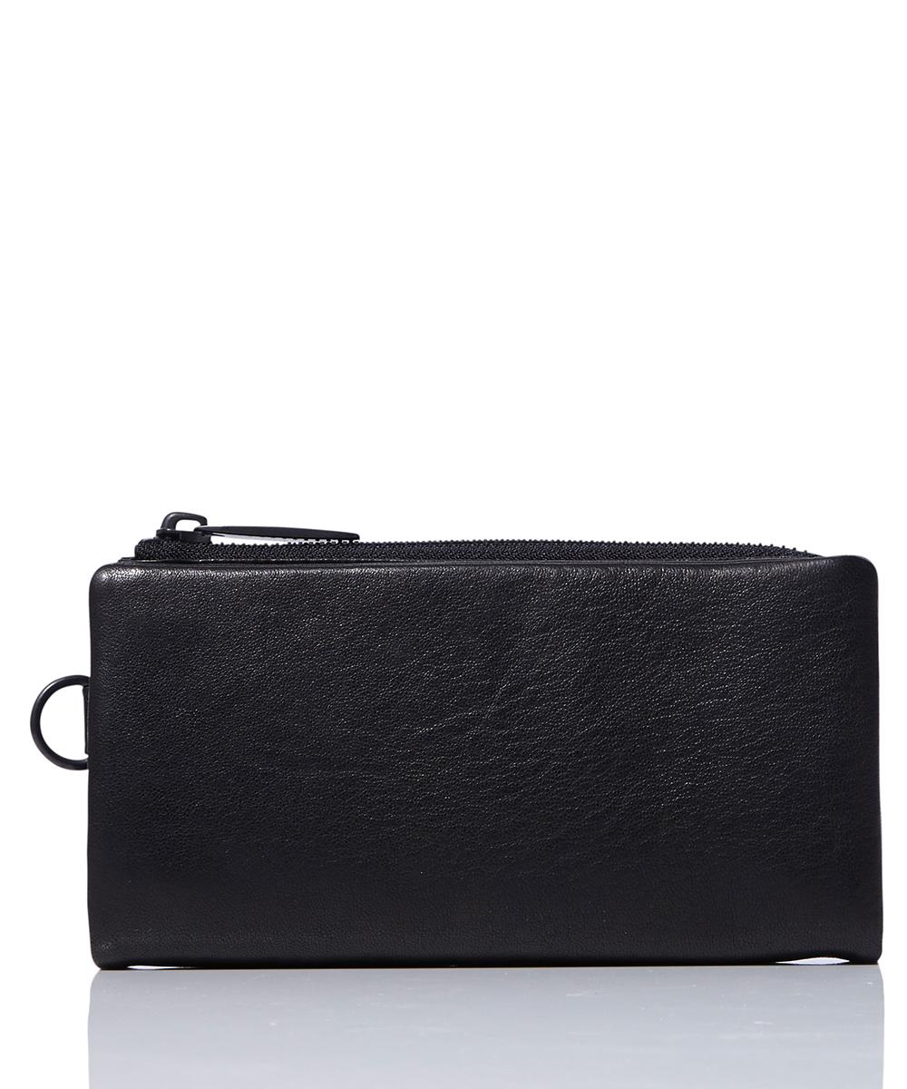 LEATHER LONG WALLET 'MINIMAL' SHINE 2