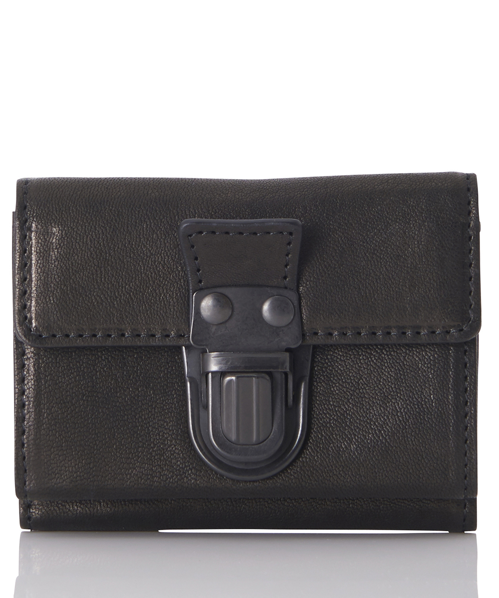 LEATHER TRIFOLD WALLET CARTABLE