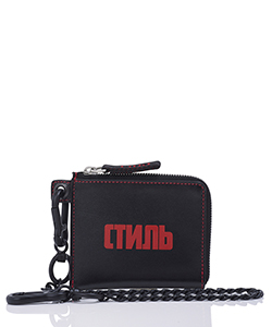 ZIP WALLET WITH CHAIN CTNMB