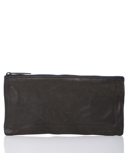 LEATHER WASHED LONG WALLET SHINE