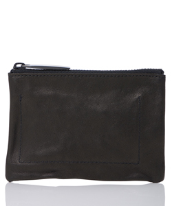 LEATHER WASHED COIN CASE SHINE