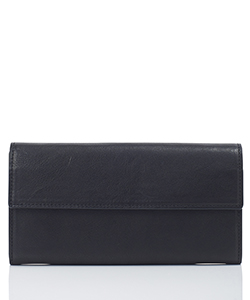 LEATHER LONG WALLET BELLOWS