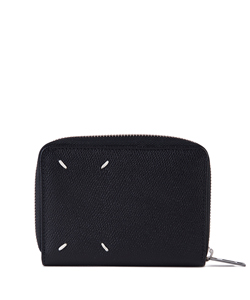 GRAINY EMBOSSED LEATHER ZIPPATO PICCOLO CARR
