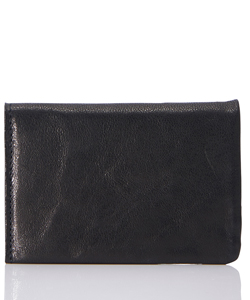 "LEATHER CARD CASE ""MINIMAL SHINE"""