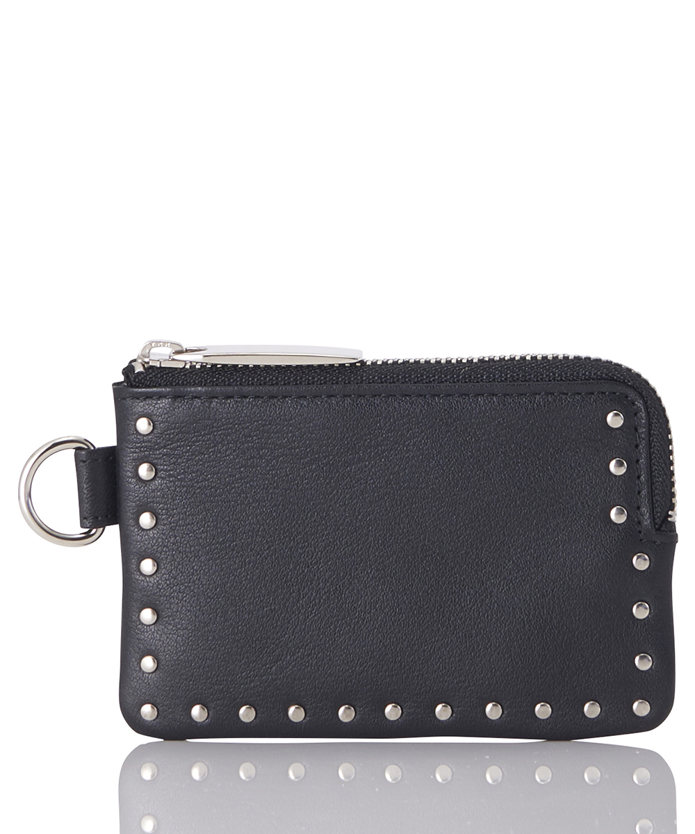 LEATHER COIN CASE 'COMER STUDS' KS