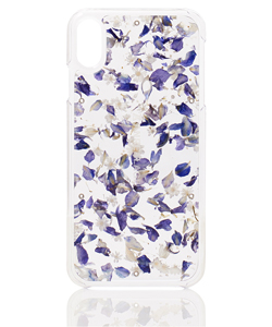 ACRYLIC FLOWER CASE FOR iPhoneXS MAX