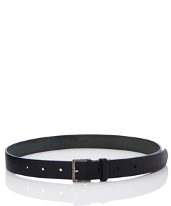 KARAKUSA BUCKLE LEATHER BELT