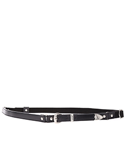 LEATHER NYLON BELT