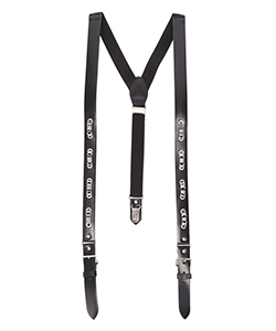 METAL LEATHER SUSPENDERS
