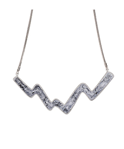 WAVE MOTIF NECKLACE