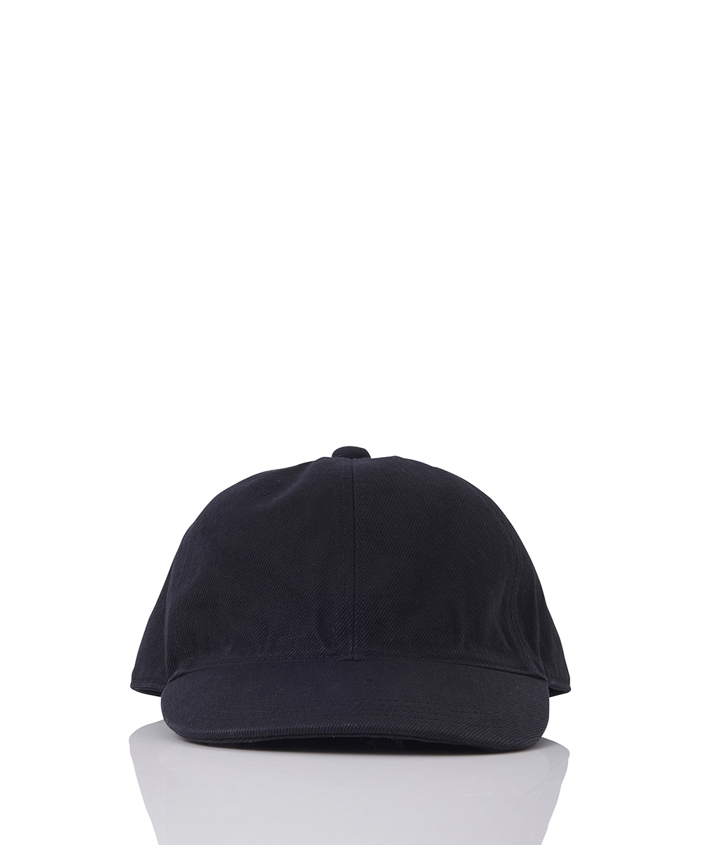 BACK LACE-UP DENIM CAP