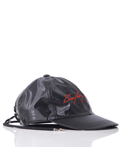 BACK LACE-UP POLISHED TWILL CAP