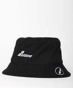 WELLDONE LOGO STAMP BUCKET HAT