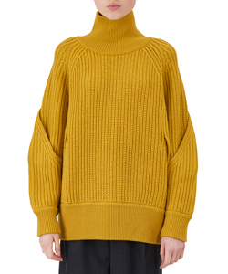 KNITTED BIG PULLOVER