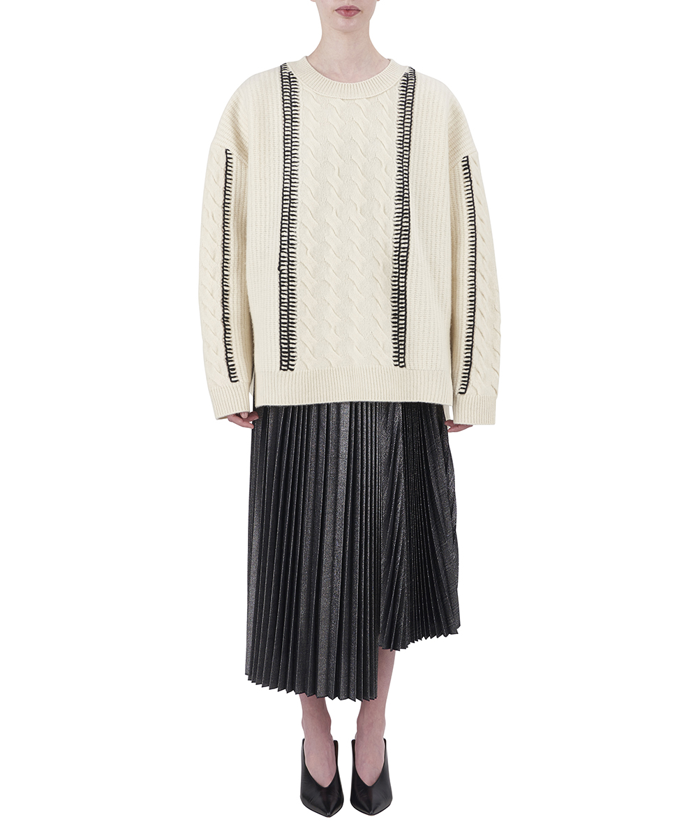 BOILED KNIT PULLOVER