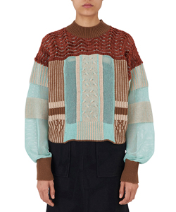 PLATING MOLE KNIT SWEATER