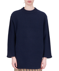 ASYMMETRY LAYER KNIT
