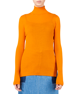 HIGH NECK LONG SLEEVE KNIT