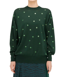 DOT KNIT PULLOVER