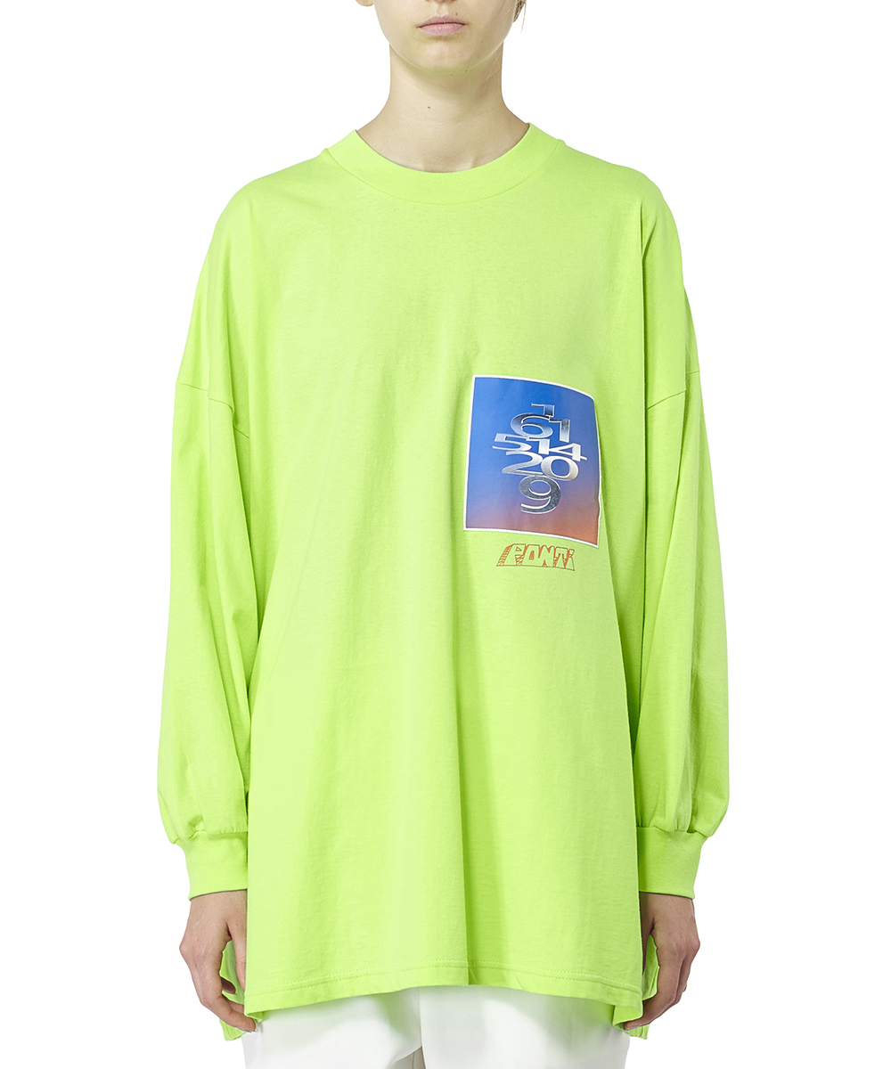 COTTON JERSEY LONG TEE