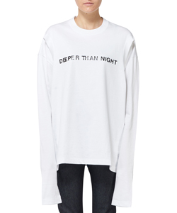 DEEPER THAN NIGHT ARM HOLE LS TOP