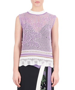 SLEEVELESS SCALA KNIT