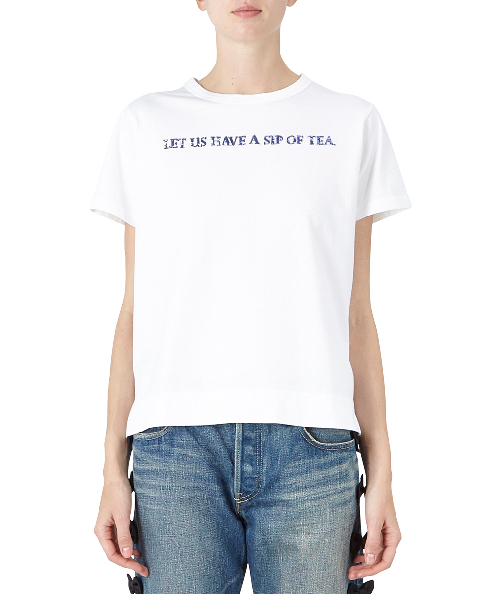 """LET US A SIP OF TEA"" Tシャツ"