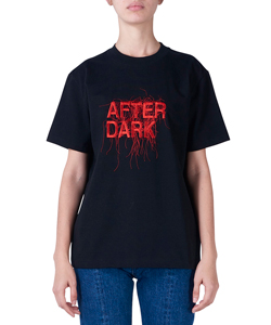 AFTER DARK EMBROIDERED TEE