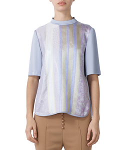 ORGANDY RALLY QUILT SHIRT