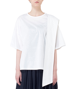 ASYMMETRY CROSS T-SHIRT