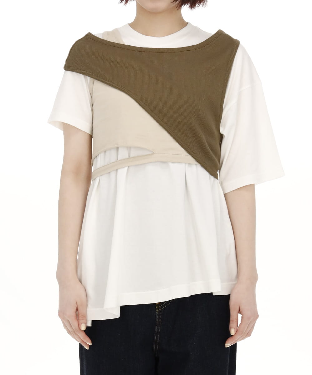 LAYERED T SHIRT