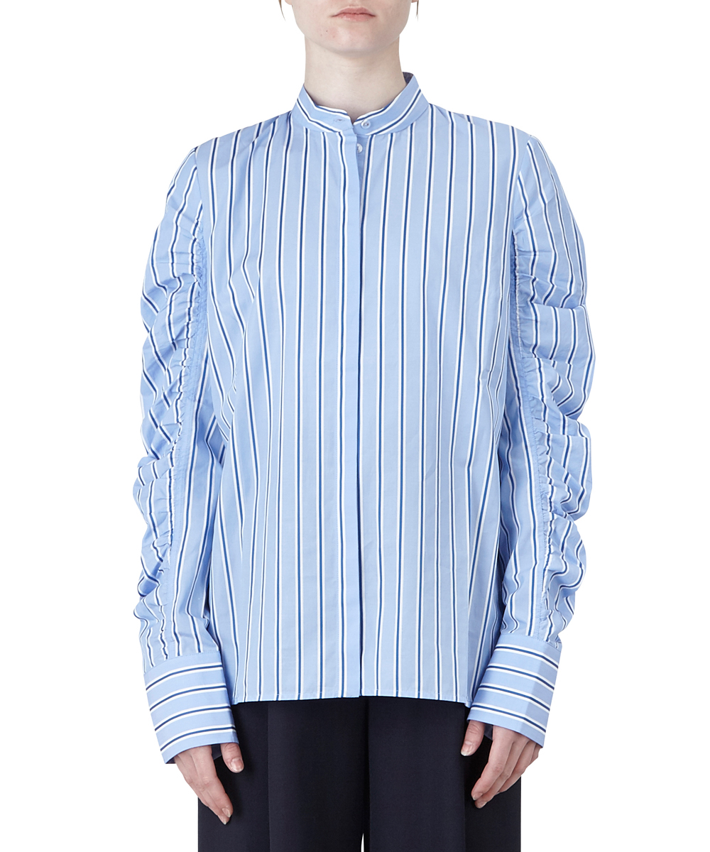 Gathered Sleeve Shirt