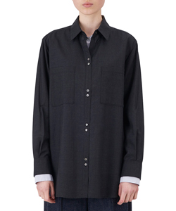 DOUBLE LAYERED SHIRT