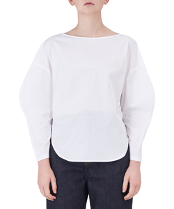 SOMELOS BACK COCOON PULLOVER