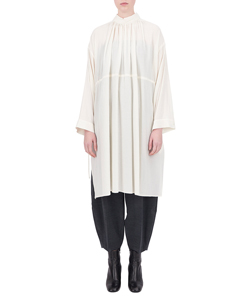 LONG SHIRRING SHIRT
