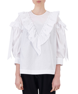 RUFFLE BOW TOP